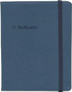 ロルバーン ポケット付メモ(A5)用カバー【ダークブルー】 500598-388
