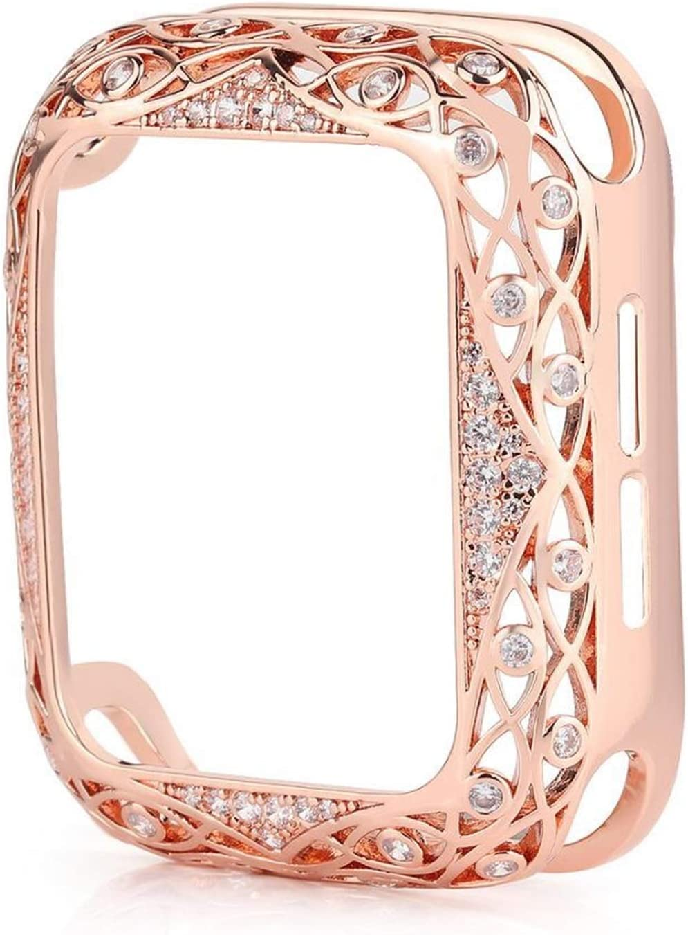 JJBFAC Carved Recommended Copper Max 64% OFF Women Luxury Bumper 44 40mm Watch for Case