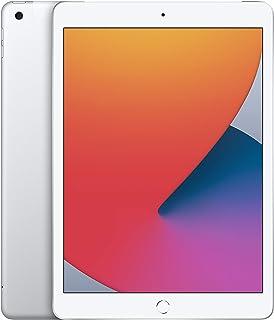 "2020 Apple iPad (10,2"", Wi-Fi + Cellular, 128GB) - Argento (8ª generazione)"
