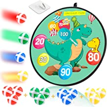 MagicWe Dart Board for Kids,Board Games Set for Boys and Girls with 12 Sticky Balls,Safe Dart Game,Indoor and Outdoor Safe...