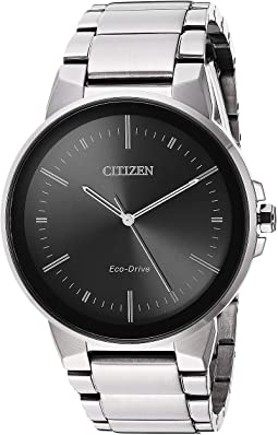 Citizen Watches Bj7000 52e Eco Drive Nighthawk Stainless Steel Watch