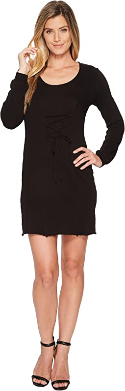 Corset Long Sleeve Mini Dress