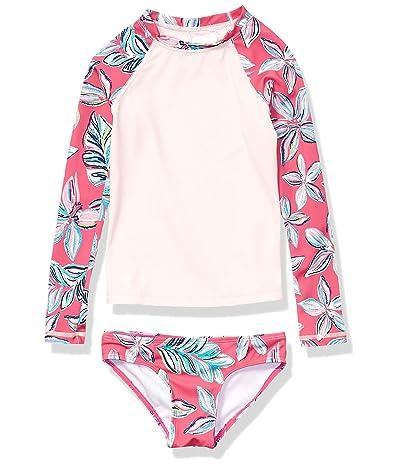 Kanu Surf Long Sleeve Rashguard Two-Piece Swim Set (Toddler)