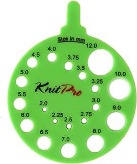 KnitPro Envy nadelschablone réglette de Mesure