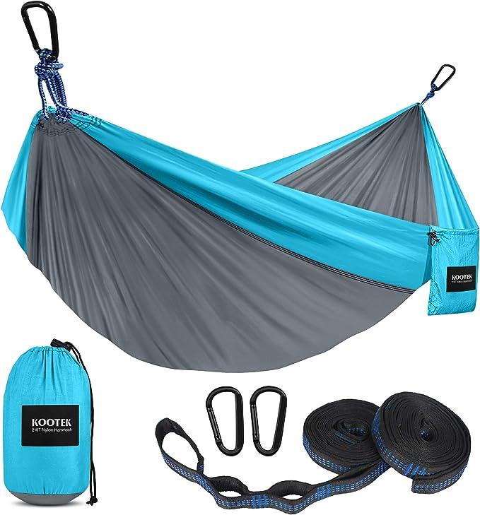 Kootek Camping Hammock Double & Single Portable Hammocks - High-Quality Hammock