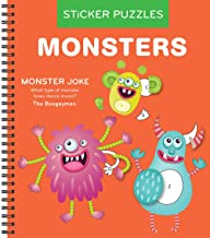 Sticker Puzzles: Monsters