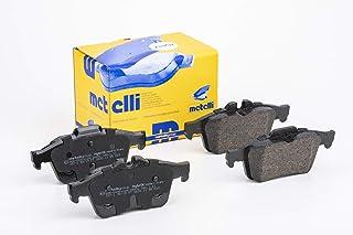 metelligroup 22 0337 1 Bremsbeläge, Made in Italy, Ersatzteile für Autos, ECE R90 zertifiziert, Kupferfrei