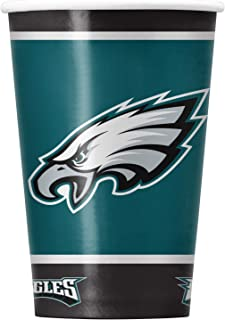 NFL Philadelphia Eagles Disposable Paper Cups, Pack of 20