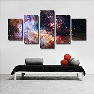 LuckyQ Q5248 Nebula Cosmos Hubble Science Univers Landscape Panel Art For Sale For Canvas Art Small Set Ready to Hang