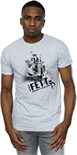 Star Wars hombre Boba Fett Bounty Hunter Camiseta