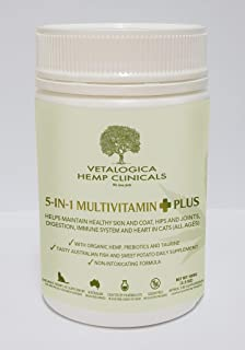 Vetalogica 5-in-1 Multivitamin Plus Cat Supplement, 1 oz
