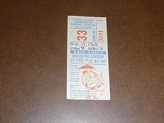 1968 NEW YORK METS TICKET STUB VS ASTROS METS WIN