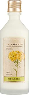 [THEFACESHOP] Calendula Essential Moisture Emulsion, Helps Smooth and Even Tone for Sensitive Skin and Face - 150 mL