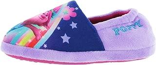 Girls Trolls Poppy Purple Elasticated Slipper UK Child Size 9