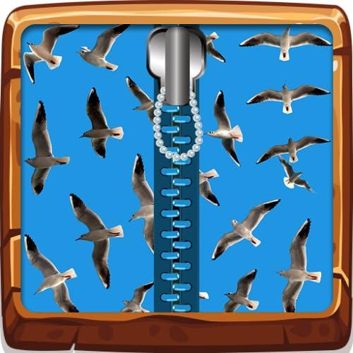 Schermi Volanti Uccello Zipper blocco