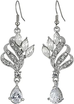Nina - CZ/Crystal Cocktail Earrings
