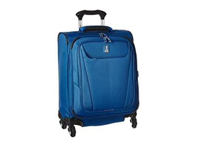 Travelpro Maxlite(r) 5 International Expandable Carry-On Spinner (Azure Blue) Luggage
