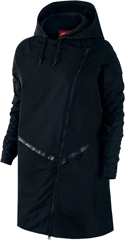 Nike Women's Parka Bonded Athletic Trench Jacket
