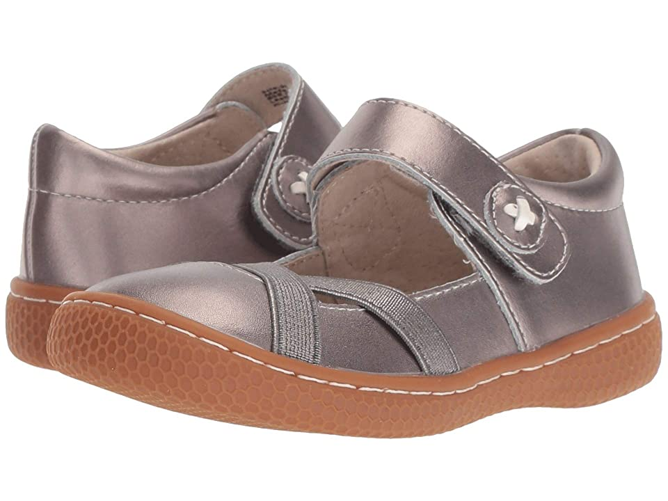 Livie & Luca Serena (Toddler/Little Kid) (Pewter Metallic) Girl