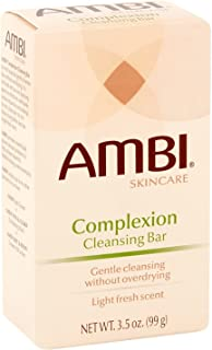 Ambi Complexion Cleansing Bar Soap, 3.5 oz (Pack of 10)