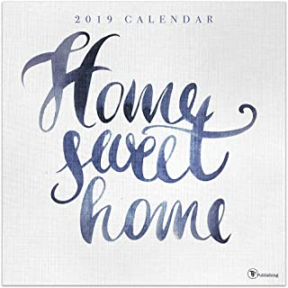 2019 Home Sweet Home Wall Calendar