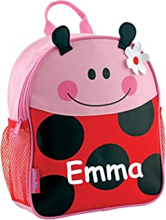 Stephen Joseph Personalized Little Girls' Mini Sidekick Ladybug Backpack With Name
