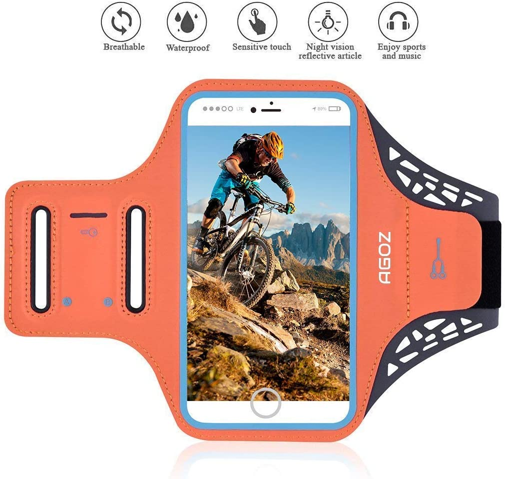 Samsung Galaxy A90 5G Case Sports Running Jogging Gym Exercise Yoga Waist Holder