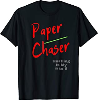 Paper Chaser Hustler, HipHop urban street wear T-Shirt