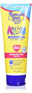 Banana Boat Kids Tear Sunscreen Lotion SPF 50, 8 Ounce (Pack of 3)