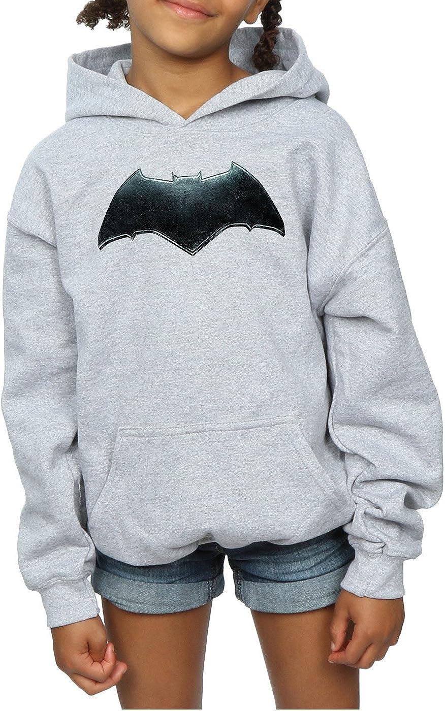 DC Comics Girls Justice League Movie Batman Emblem Hoodie