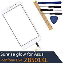 Compatible with Asus Zenfone Live Digitizer ZB501KL Display Touch Screen Digitizer -White