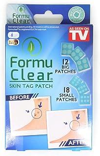 Best Direct FormuClear Skin-Tag, 30 vlekken tegen huidvlekken, natuurlijk