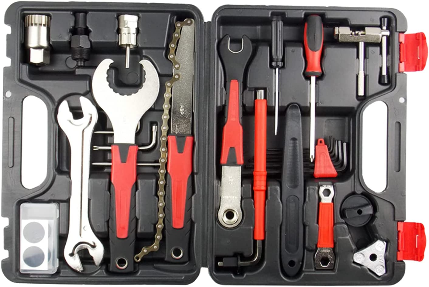 Fancyes Bike Ranking TOP3 Repair Outlet ☆ Free Shipping Tool Kit Set Box Chain Whip Br Bicycle