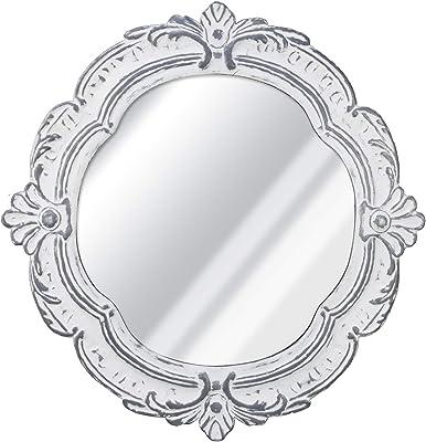 Signature Design By Ashley Desma Quatrefoil Framed Wall Mirror Traditional Champagne Furniture Decor
