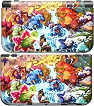 POKEMON XY for New Nintendo 3DS Skin New3DS N3DS Decal Sticker Vinyl Cover + Screen Protectors