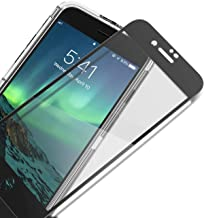 UNBREAKcable iPhone 8/7 Full Coverage Screen Protector - [Easy Installation Frame] Double Defence Tempered Glass Screen Protector for 4.7-inch iPhone 8/7