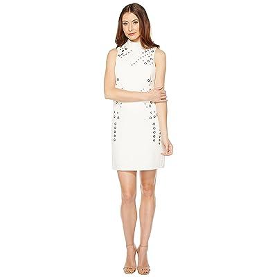Tahari by ASL Grommet Sheath Dress (Ivory/White) Women