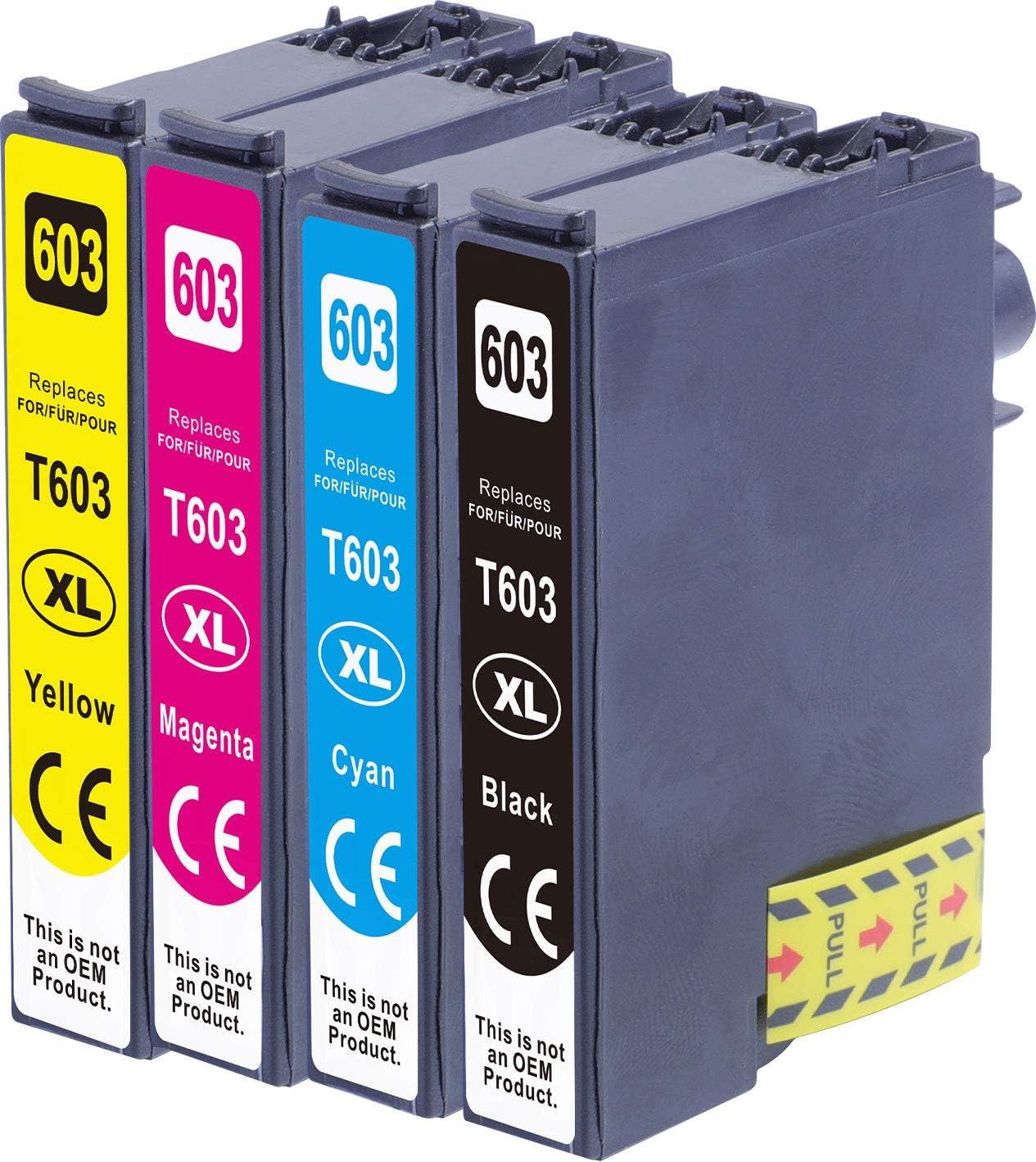 Obv Kompatible Tintenpatronen Als Ersatz Für Epson Nr 603 603xl Für Epson Expression Home Xp 2100 Xp 2105 Xp 3100 Xp 3105 Xp 4100 Xp 4105 Workforce Wf 2810 Dwf Wf 2830 Dwf Wf 2835dwf Wf 2850dwf Bürobedarf Schreibwaren