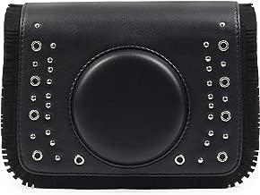 DKEnjoy PU Leather Universal Camera Case Bag Cover for Fujifilm Instax Mini 8 8+ 9 70 7s 25 26 50s 90 Instant Film Camera, Polaroid Zip Mobile Printer, Instax Printer