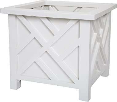 Pure Garden 50-116 Planter Box, White
