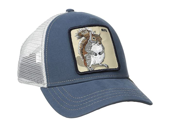 Goorin Brothers  Animal Farm Snap Back Trucker Hat (Blue Nutty) Caps