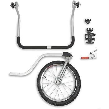 PetSafe Happy Ride HoundAbout Bike Stroller Conversion Kit - Lightweight, Rust-Free Aluminum Handlebar - All-Terrain Wheel - Medium and Large Sizes