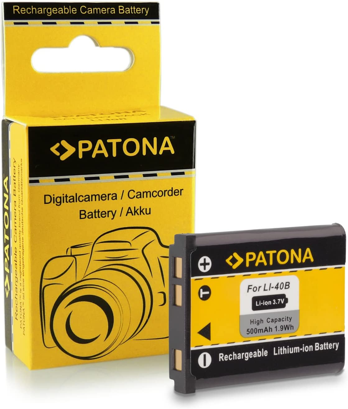 Dual Charger/for Olympus PS-BLN1 OMD EM5/Mark II Stylus XZ-2/Pen E-P5/E-M1/E-P5/Battery with Micro USB Cable Patona