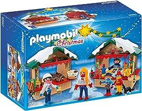 PLAYMOBIL - Mercadillo navideño (55870
