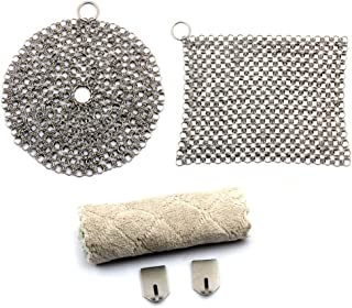 Stainless Steel Cast Iron Cleaner 2 Pack- 8
