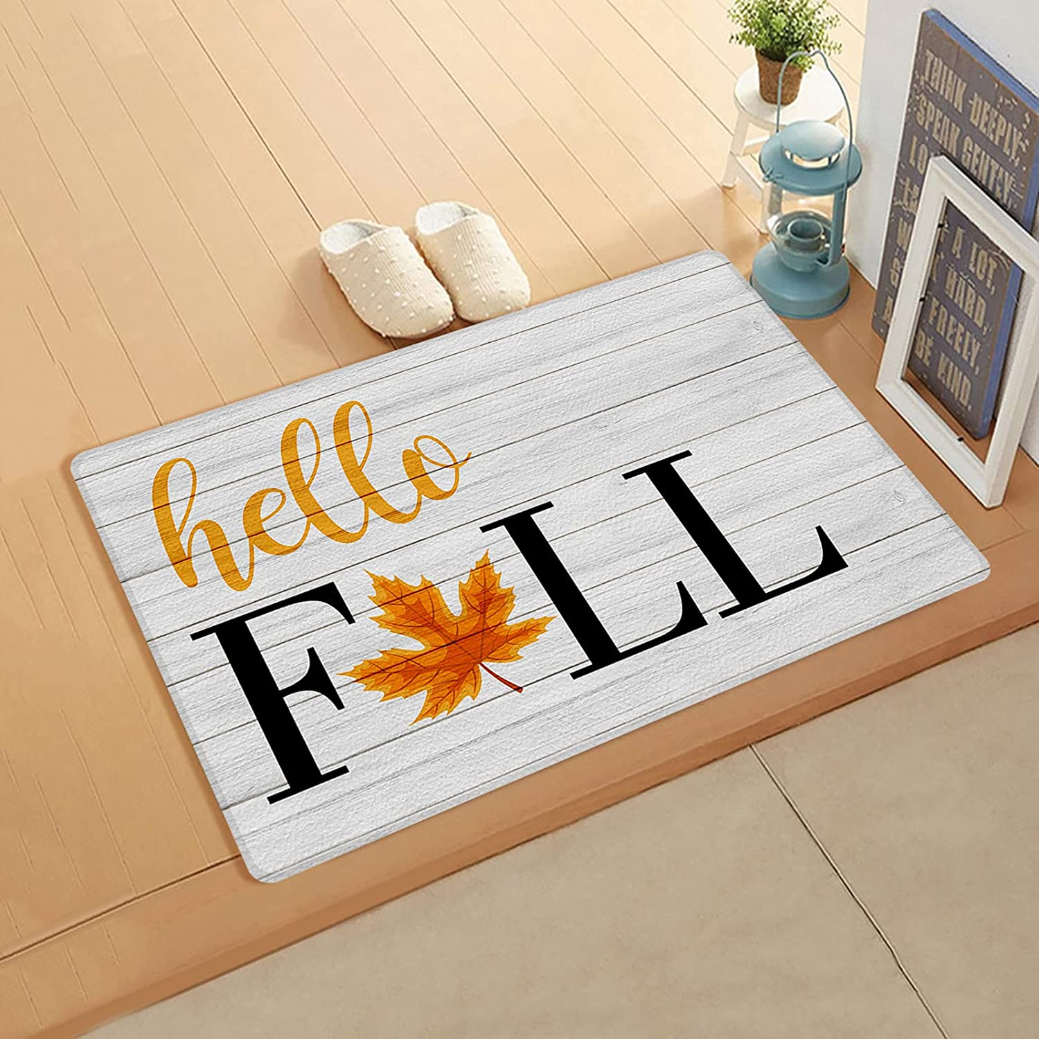 InvisibleWings Kitchen Mat Cushioned Comfort Omaha Mall service Fal Floor Hello