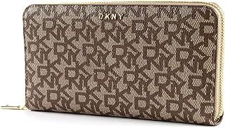 DKNY Womens Nxq Wiestlets Wallet, Color Brown