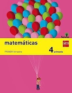 comprar comparacion Matemáticas. 4 Primaria. Savia - Pack de 3 libros - 9788467575408