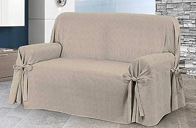 HomeLife – Cubre sofá de 2 plazas – Elegante Protector de sofás a ...