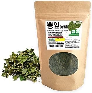 [Medicinal Korean Herb] Mulberry Loose Leaves (Sangye/뽕잎) Dried Loose Leaves 3oz (86g)